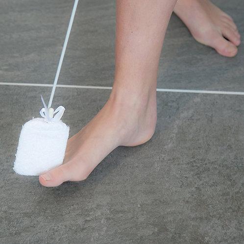 Lave-orteils sur manche