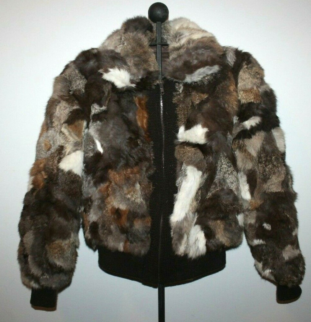 Rabbit fur coat that inspired ceramic art.
