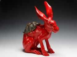 Hare with Tortoise Shell