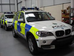 BMW Police Conversion