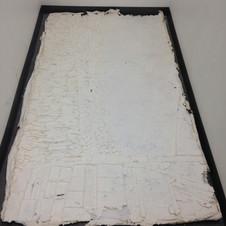 5. Papier fraîchement démoulé de la matrice en céramique