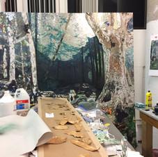 6. Estampes et finalisation de la forêt