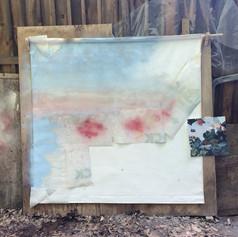 Couche de fond à la peinture en aérosol