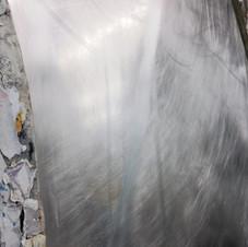 4. Ponçage du panneau d'alluminium