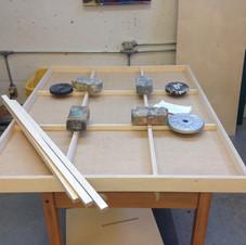 2. construction de la structure du tableau adaptée pour l'usinage au CNC