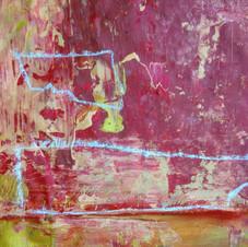 2. préparation des couleurs et des textures rocheuses