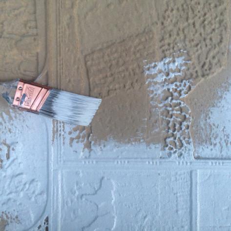 5. Protection du panneau de fibres à densité moyenne par une couche de gesso