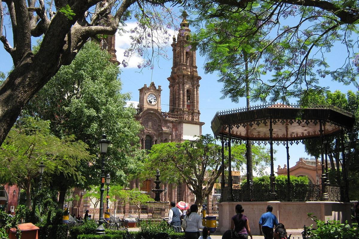 Zamora - Plaza de Armas y Catedral