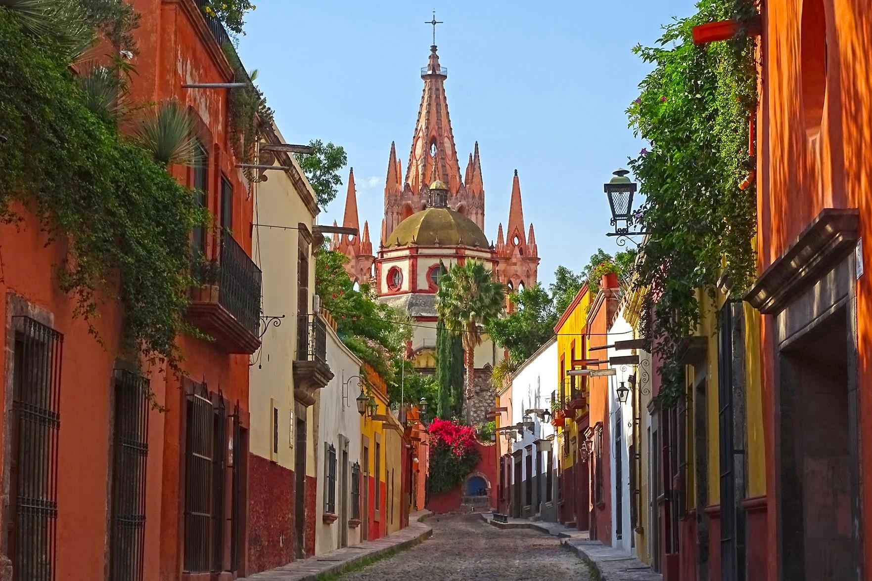 San Miguel de Allende - Calle Aldama