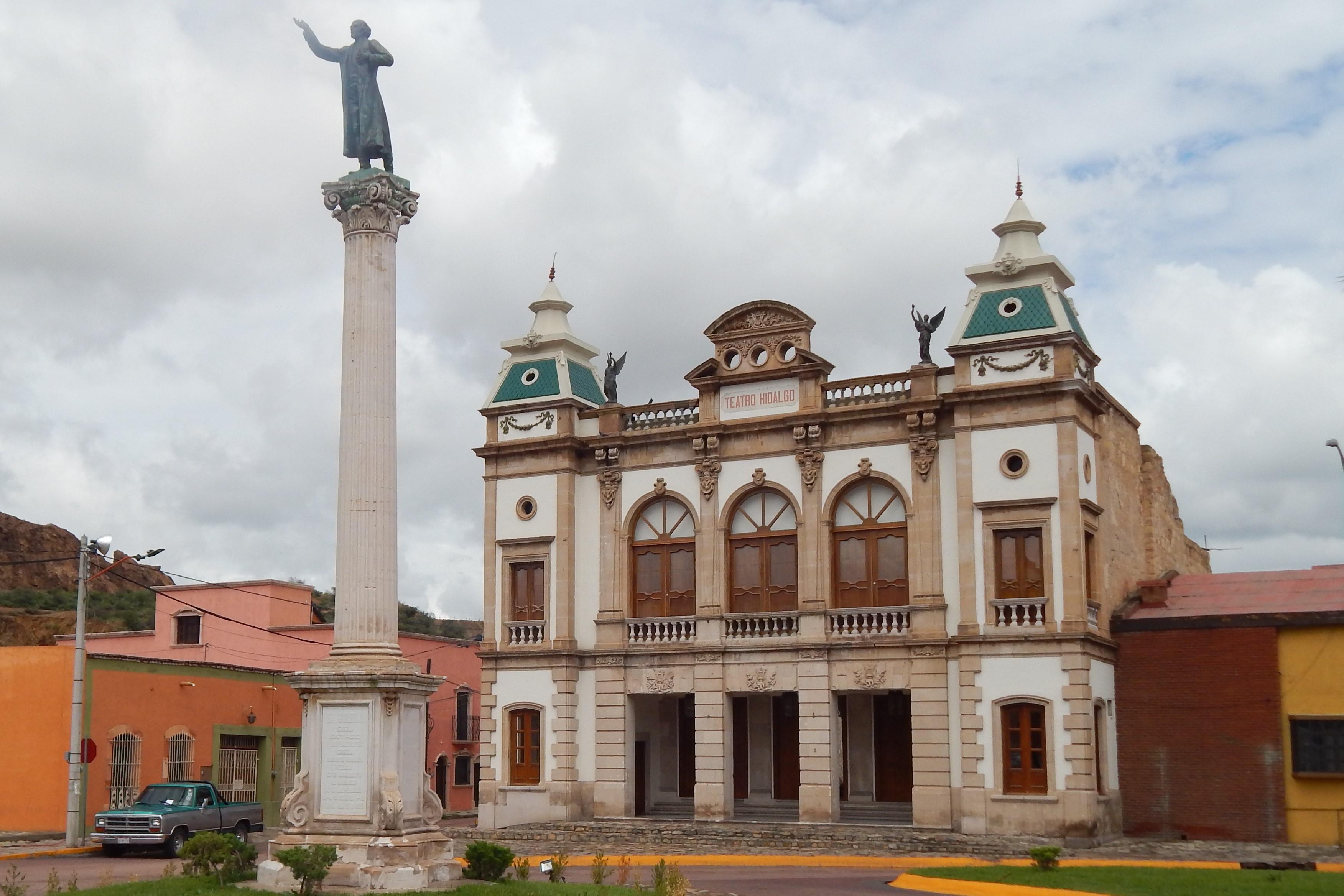 D04 Hidalgo del Parral - Teatro Hidalgo.