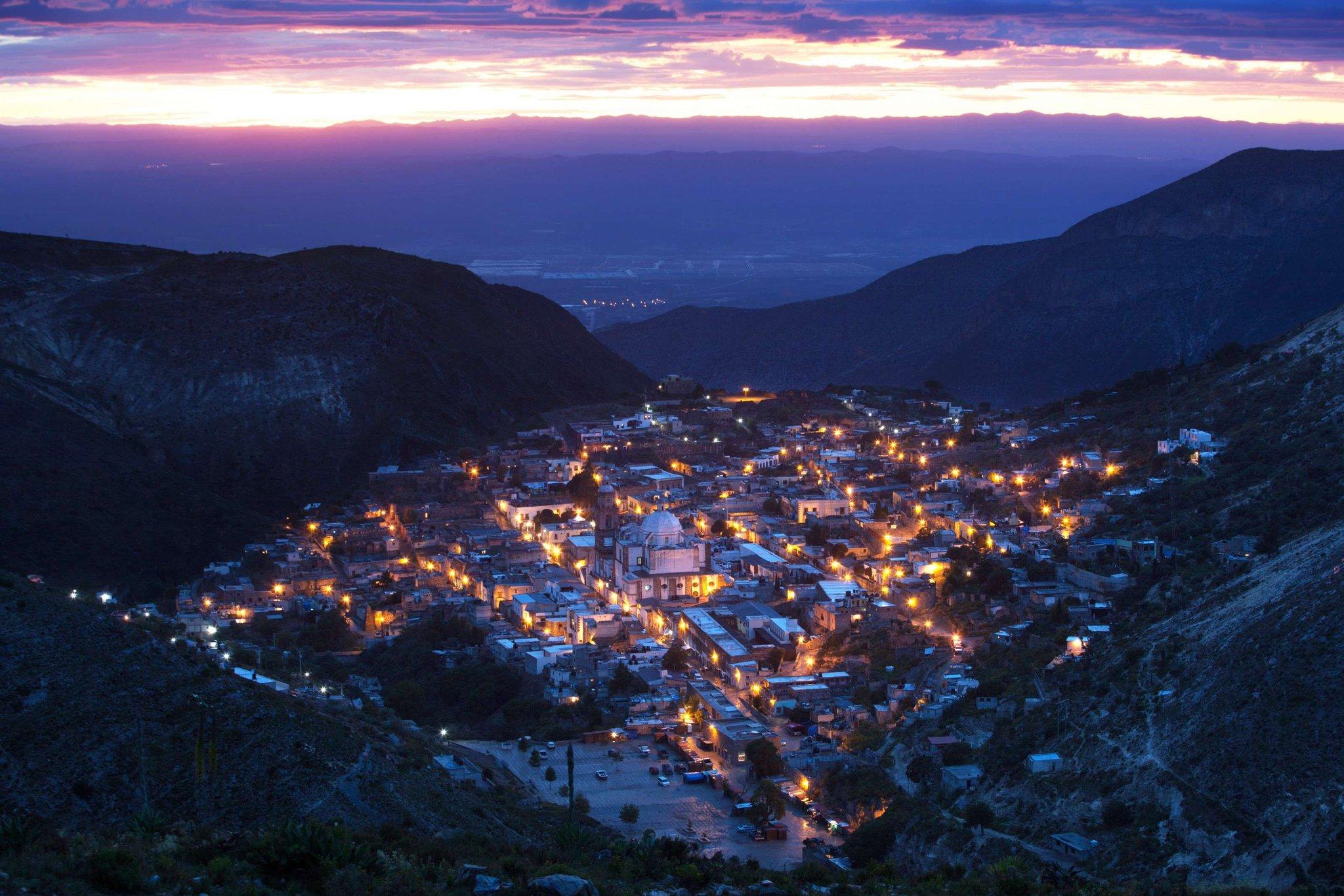 Real de Catorce - Panoramica Noche