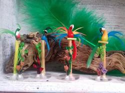 Aves de Mexico en Miniatura