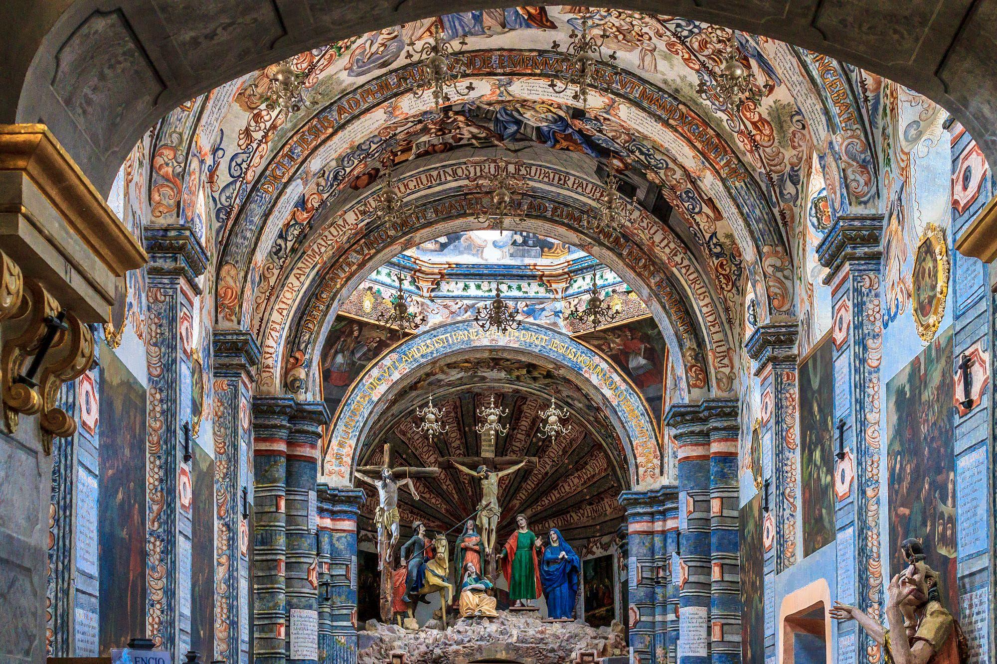 Santuario Atotonilco - Interior