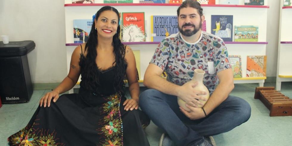 Sandra Guzmán e André Gonçalves (A Pombinha e a Moura Torta)