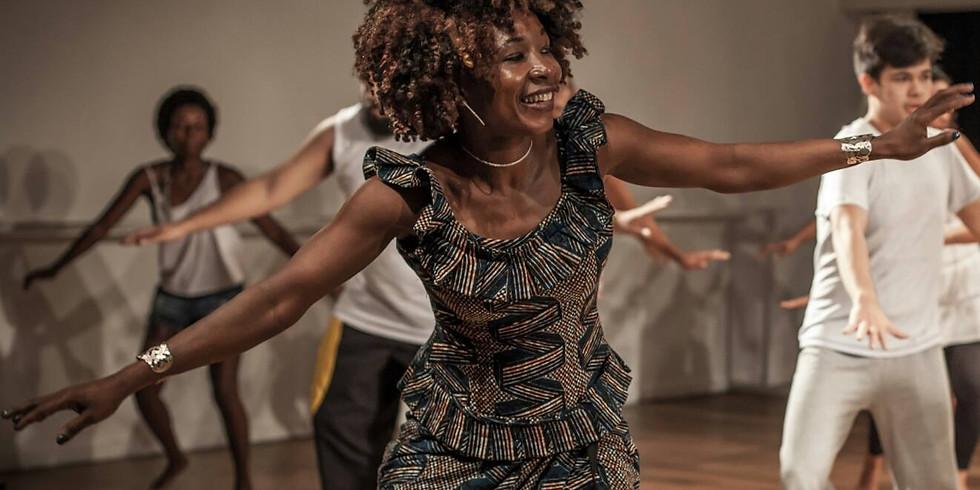 Oficina de dança africana com Fanta Konatê