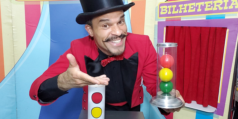 Dimy o ilusionista - (espetáculo: Circo Mágico Show)