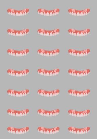 Grey Tile Smile