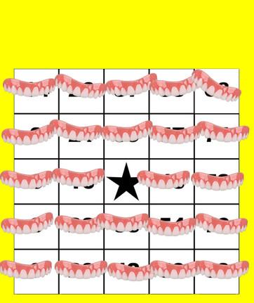 Yellow Bingo Smile