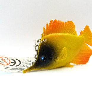 Fish with Label