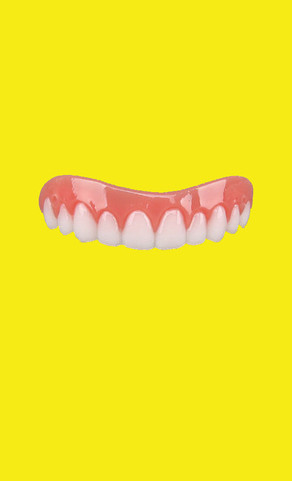 Yellow Big Smile
