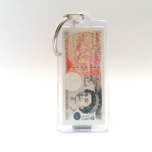 Encased £10 Note