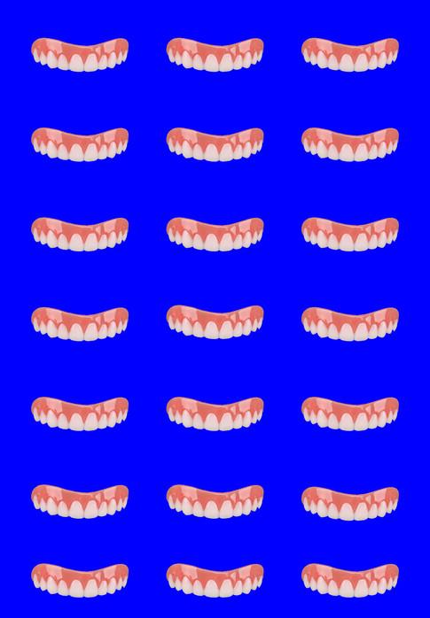Blue Tile Smile