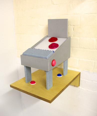 Unplayable Pinball Machine / Pink