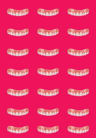 Pink Tile Smile