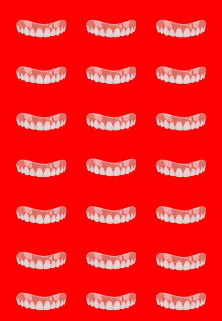 Red Tile Smile