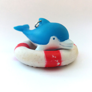 Whale in Life Ring