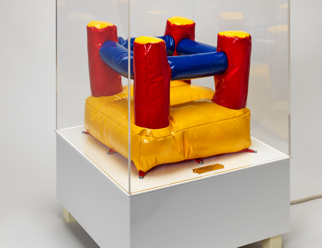 Worlds Smallest Hand Stitched Bouncy Castle (Record Pending)