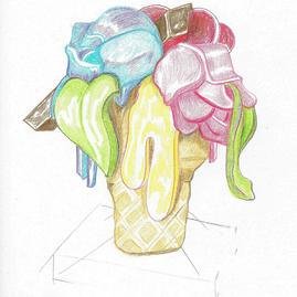Bouquet Ice Cream