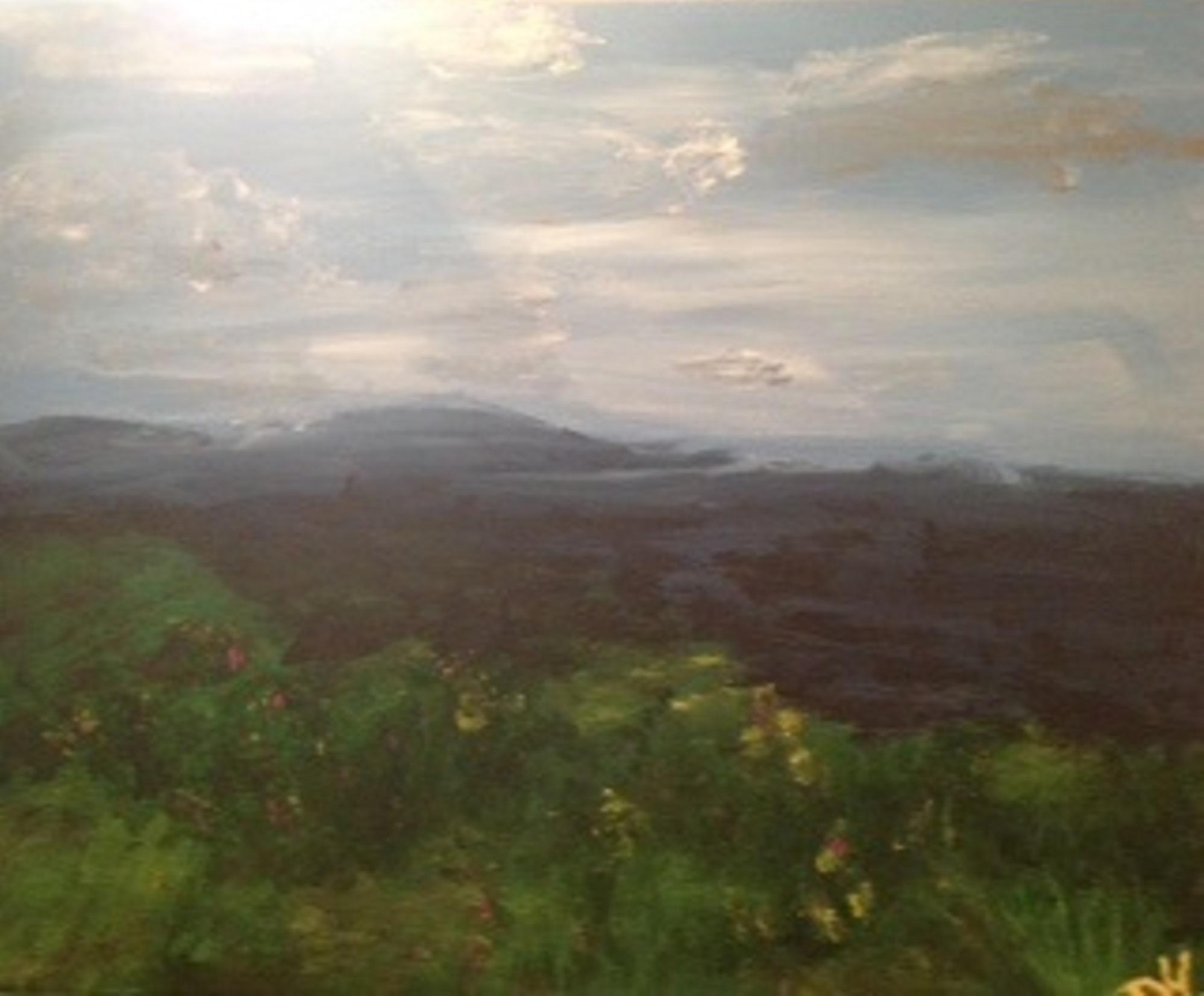 Flagstaff painting