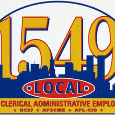 Local 1549, DC37, AFSCME  NYC Clerical Administrative Employees