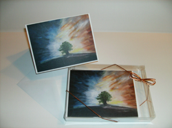 Sunset Set of 12 notecards/envelopes