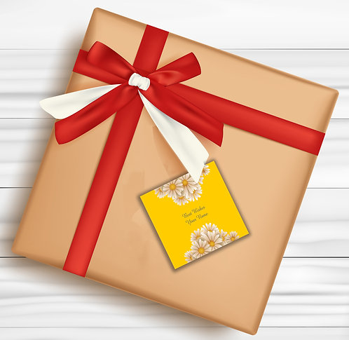Gift Tags (Pack of 30 / 60)  (GT 17)