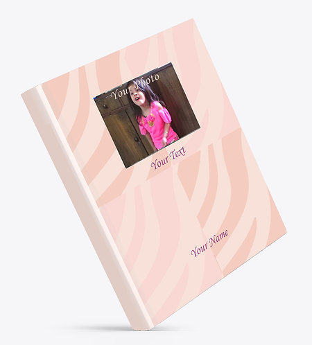 Personalized Hardbound Large NoteBook / Diary (NBHB L 006)