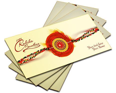 Shagun Envelopes For Rakshabandhan (Pack of 10)