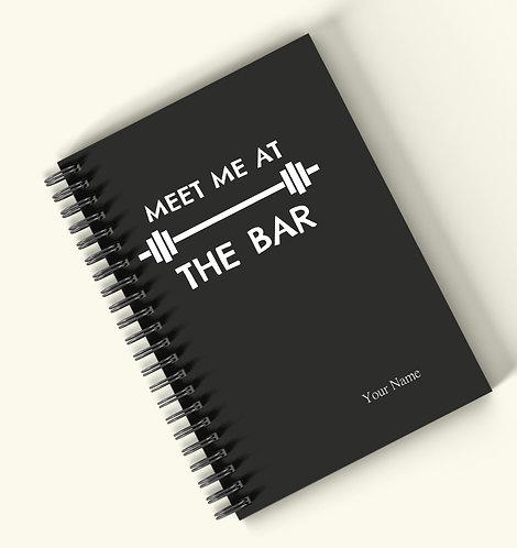 Personalized Hardbound Wiro / Spiral NoteBook / Diary (NBHB Wiro 016)