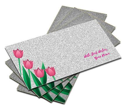 Customized Glitter Shagun Envelopes