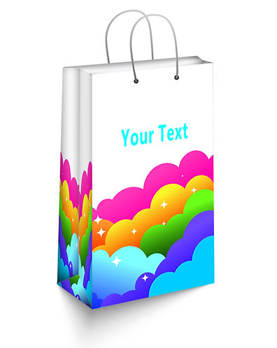 Personalized Paper Gift Bags (SBAG 003)