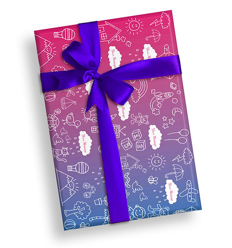 Customized Wrapping Papers (020)