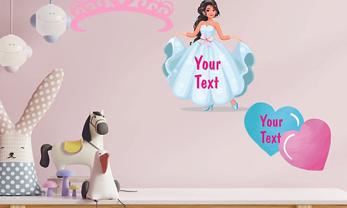 Customized Princess Theme CUT-OUT Posters (PS Cut-out Pos 04)