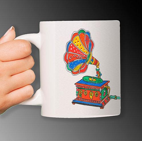 Customized Ceramic White Mug