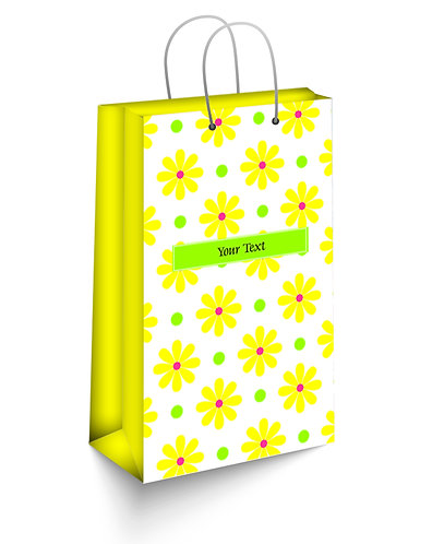 Personalized Paper Gift Bags (SBAG 011)