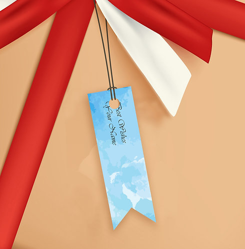 Gift Tags (Pack of 20 / 60)  (GT sh 13)