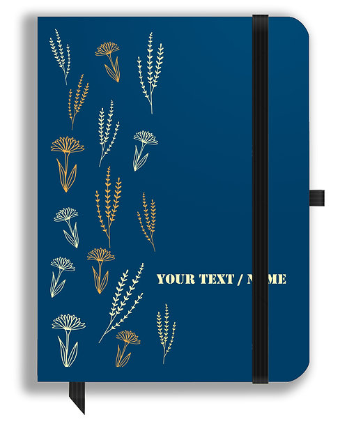 Personalized Leather NoteBook / Diary (NBLTHR 009)