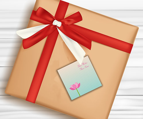Gift Tags (Pack of 30 / 60)  (GT 20)