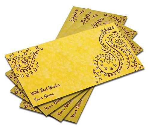 Customized Water Colour Effect Shagun Envelopes