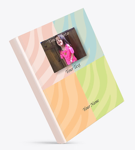 Personalized Hardbound Large NoteBook / Diary (NBHB L 005)